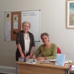 Barbara and Fiona, two of our Receptionists