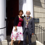 Heather Hicks, Chairman and Councillor Michael Chartier